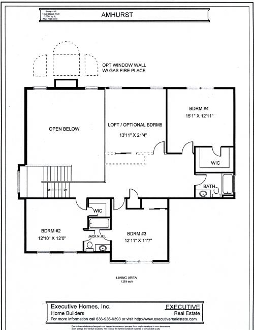 1 1 2 story floorplans for Second story floor plan