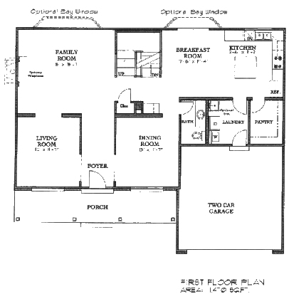 1st Story Floor Plan Great Ideas