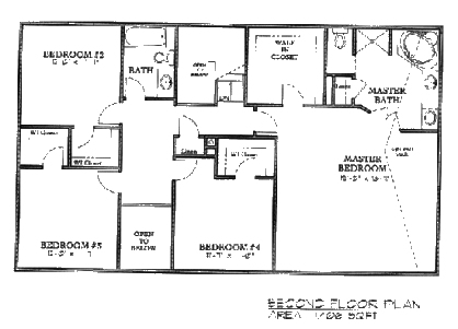 2nd Story Floor Plan Photo Gallery