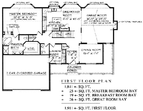 1 5 floorplans Reverse story and a half floor plans