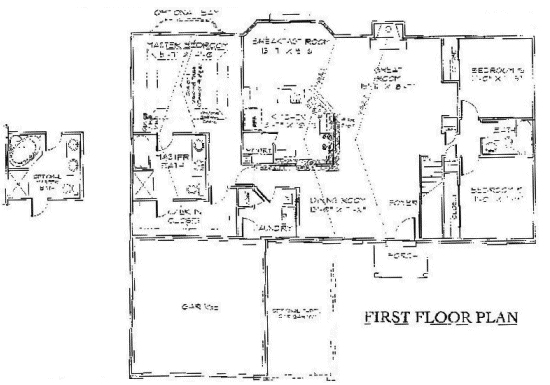 Ranch floorplans for 101 richmond floor plans