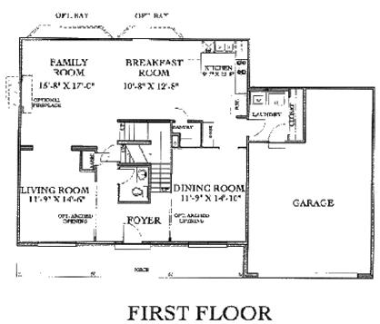 2 Story Floorplans